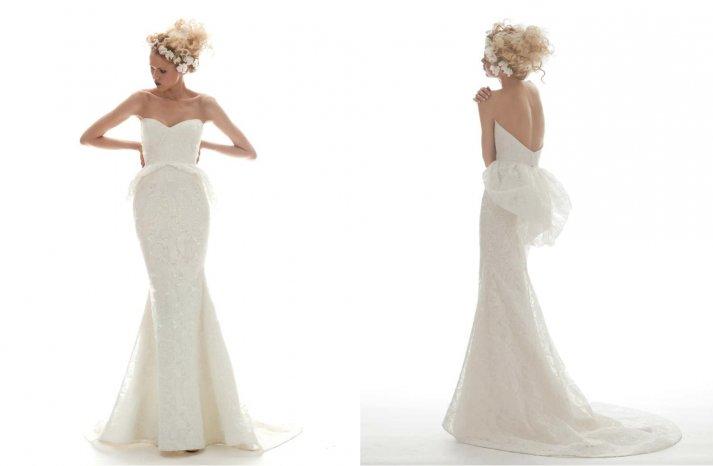 Elizabeth Fillmore Wedding Dress Spring 2013 Bridal Isabella
