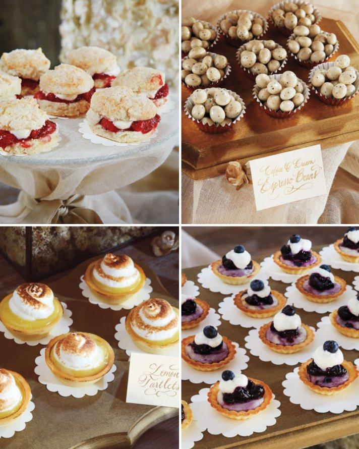 Tasty Reception Food at Blake Lively Ryan Reynolds Wedding