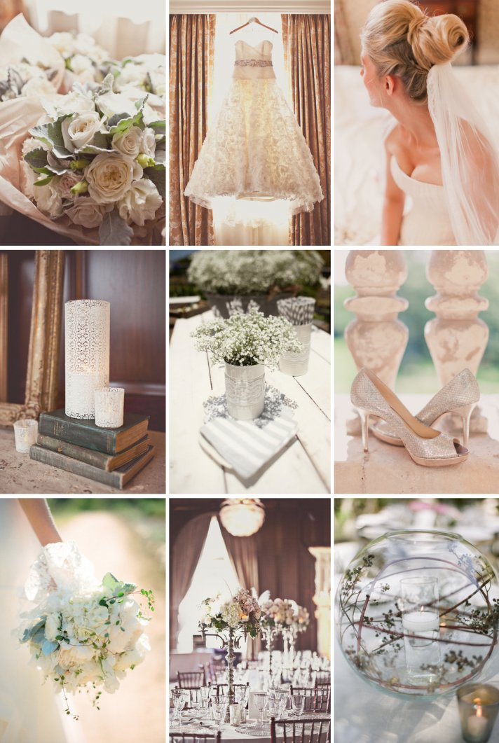 elegant wedding colors soft neutrals