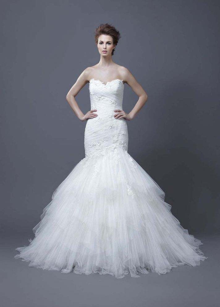 2013 Wedding Dress by Enzoani Habika