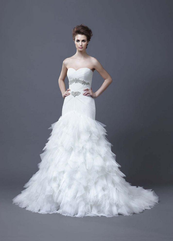 2013 Wedding Dress by Enzoani Bridal Hadiya