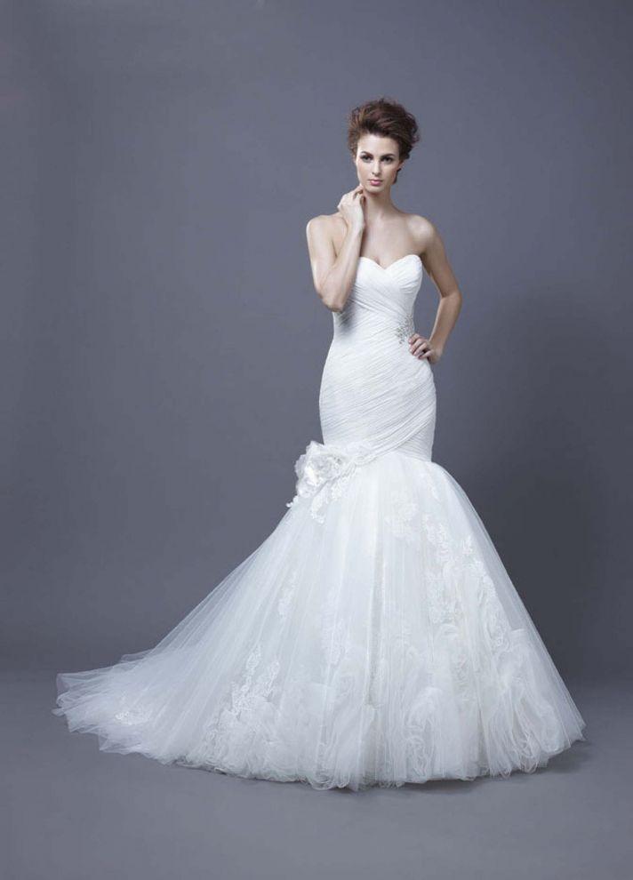 2013 Wedding Dress by Enzoani Bridal Harika