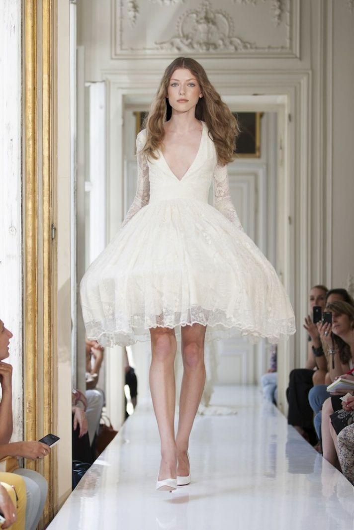 2013 Wedding Dress by Delphine Manivet French Bridal Prospere
