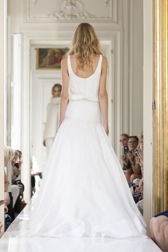 2013 Wedding Dress by Delphine Manivet French Bridal Lubin