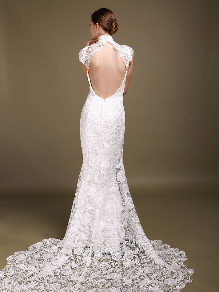 8 beautiful wedding dresses for under 500 onewed for A pretty wedding dress