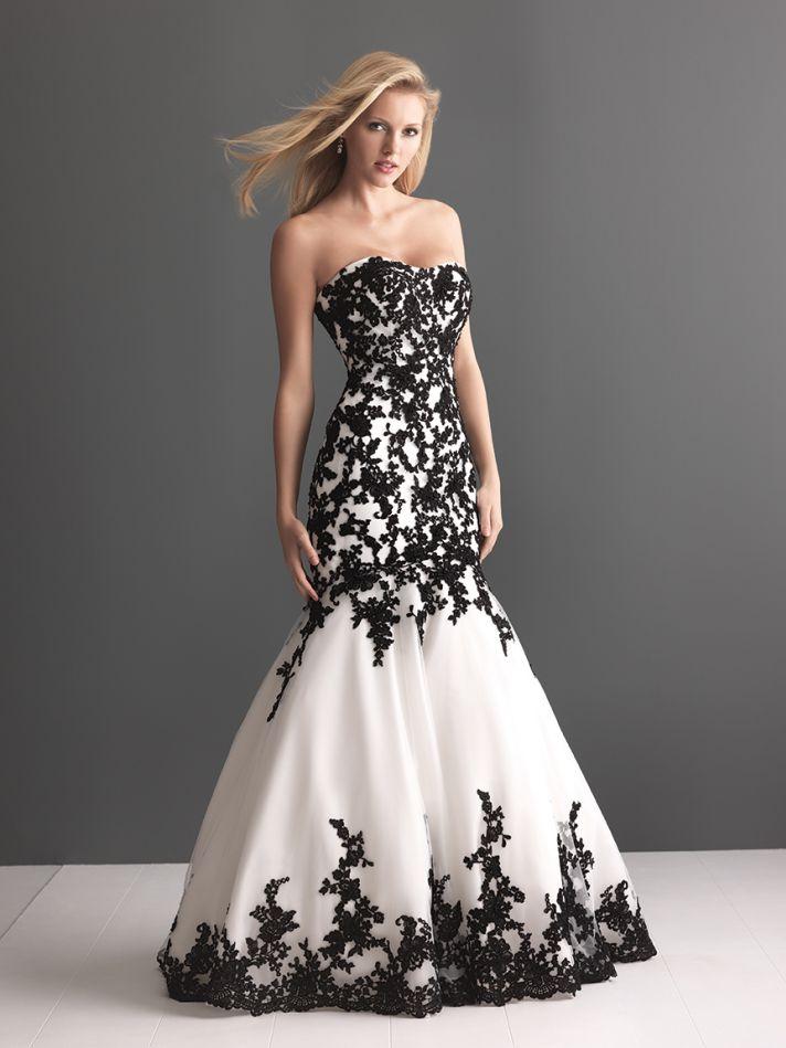 Black And Blue Wedding Dress 21 Ideal Allure Bridals Wedding Dress