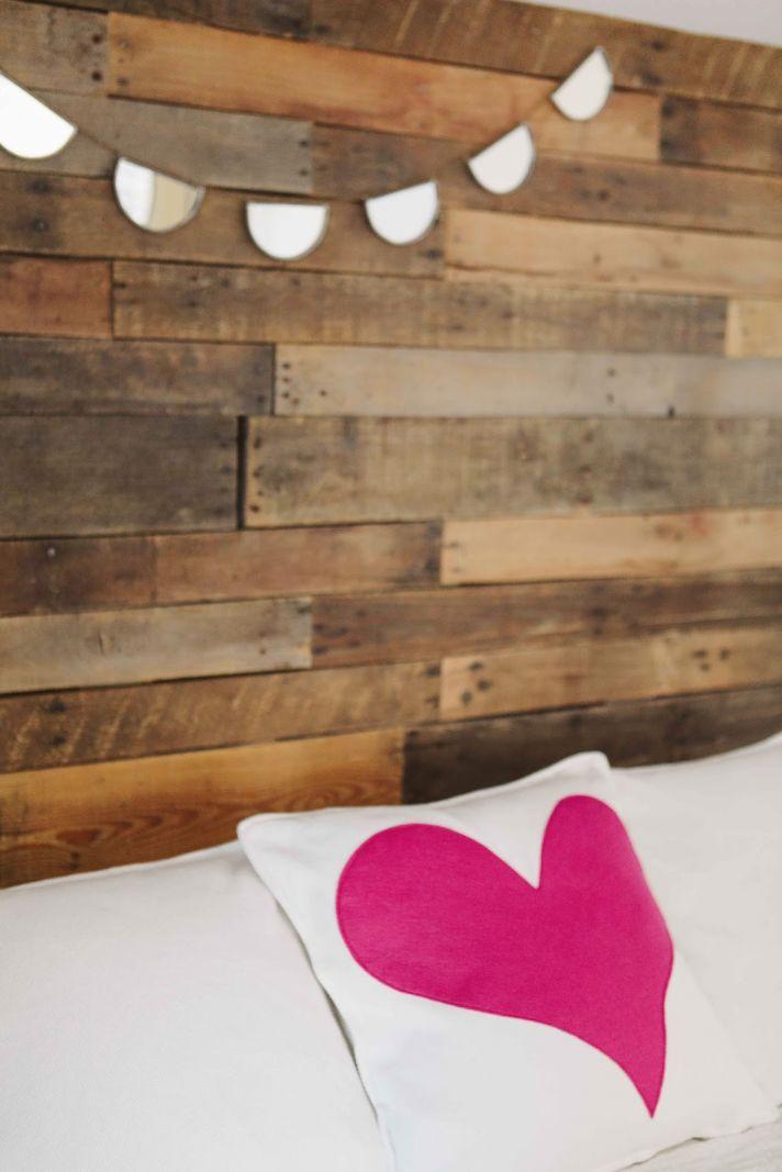 Heart Adorned Decor Pillow Wedding DIY