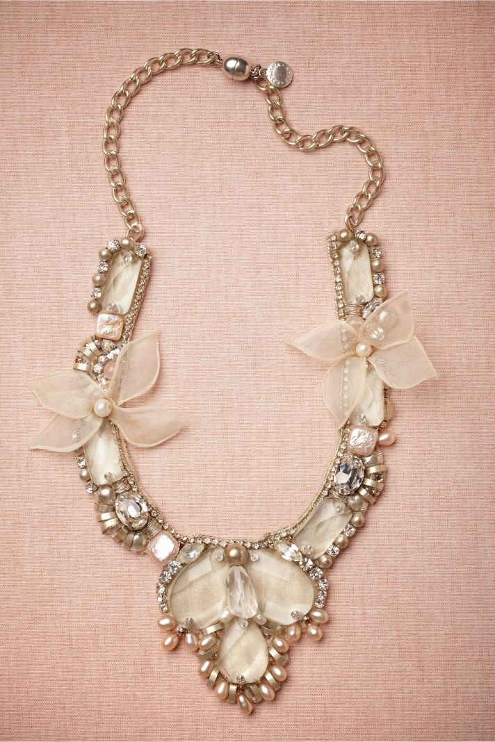 Elegant Statement bridal necklace