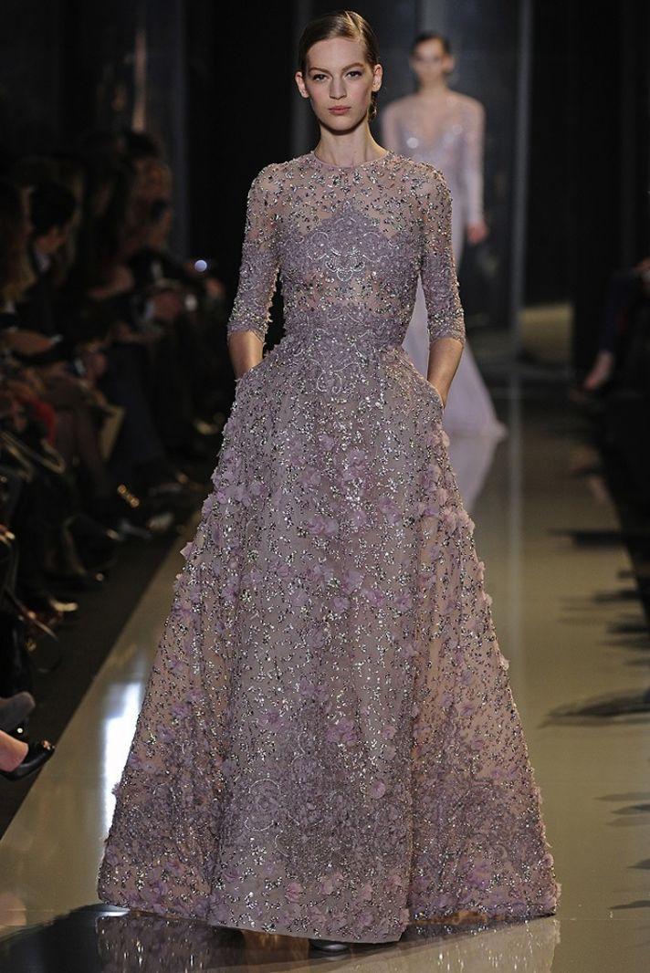 Коллекция вечерних платьев Elie Saab.