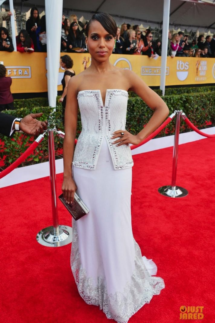 kerry washington sag awards 2013 red carpet 01