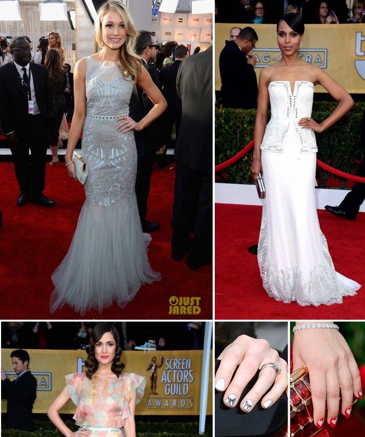 SAG Awards Red Carpet Wedding Style Inspiration