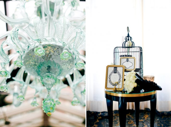 Emerald Gold Wedding Color Ideas Reception Decor