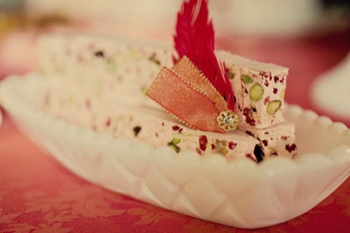 Wedding Sweets with a Vintage Valentines Twist