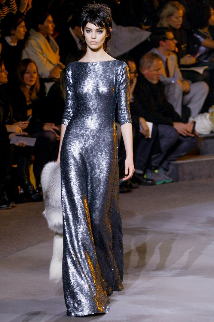 Ivory fur bridal coat for winter weddings Marc Jacobs