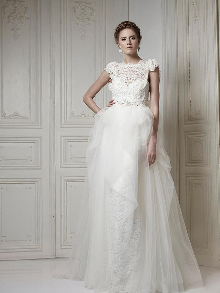 Ersa Atelier Wedding Dress 2013 Bridal 2