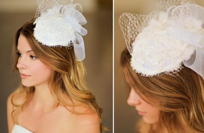 Romantic wedding hair accessories by Alice Padrul 4