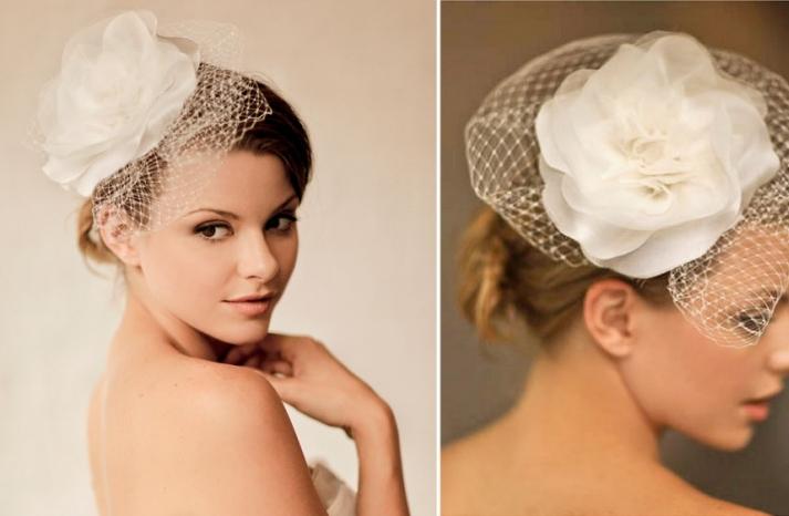 Romantic wedding hair accessories by Alice Padrul 3
