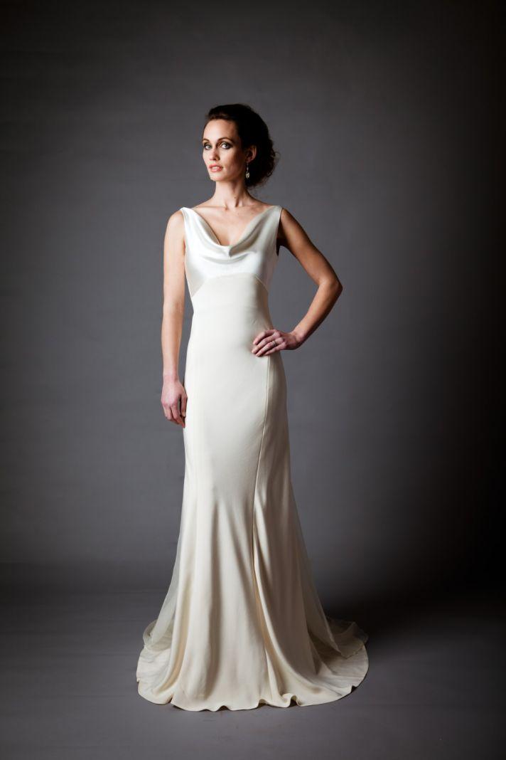Beautiful Silk Charmeuse Wedding Dress Gallery - Styles & Ideas 2018 ...