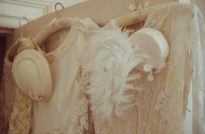vintage inspired wedding ideas fancy hats