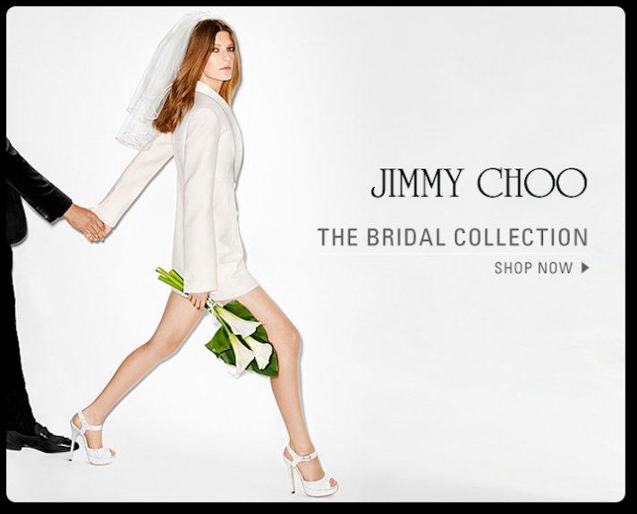Jimmy Choo Bridal Heels 2013
