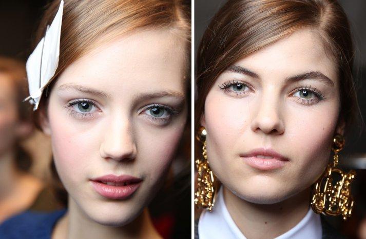 Moschino Fall 2013 Wedding Hair Makeup Inspiration 2