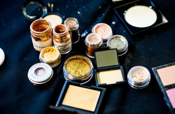 gilded wedding eyes makeup inspiration