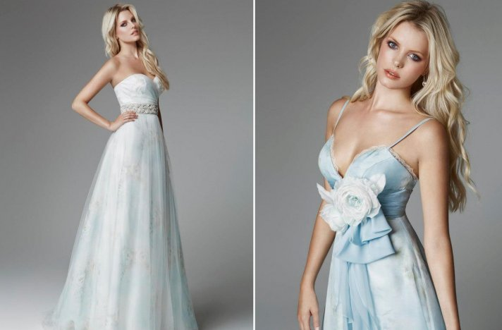 Light blue wedding dresses for 2013