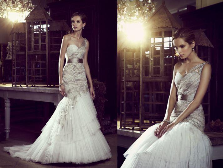 Elizabeth Stocktenstrom Wedding Dress 2013 Bridal 5