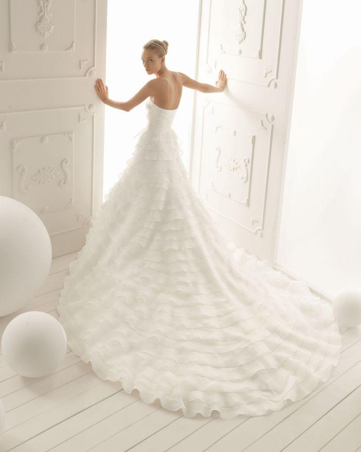 Aire Barcelona Wedding Dress 2013 Vintage Bridal Collection Verona