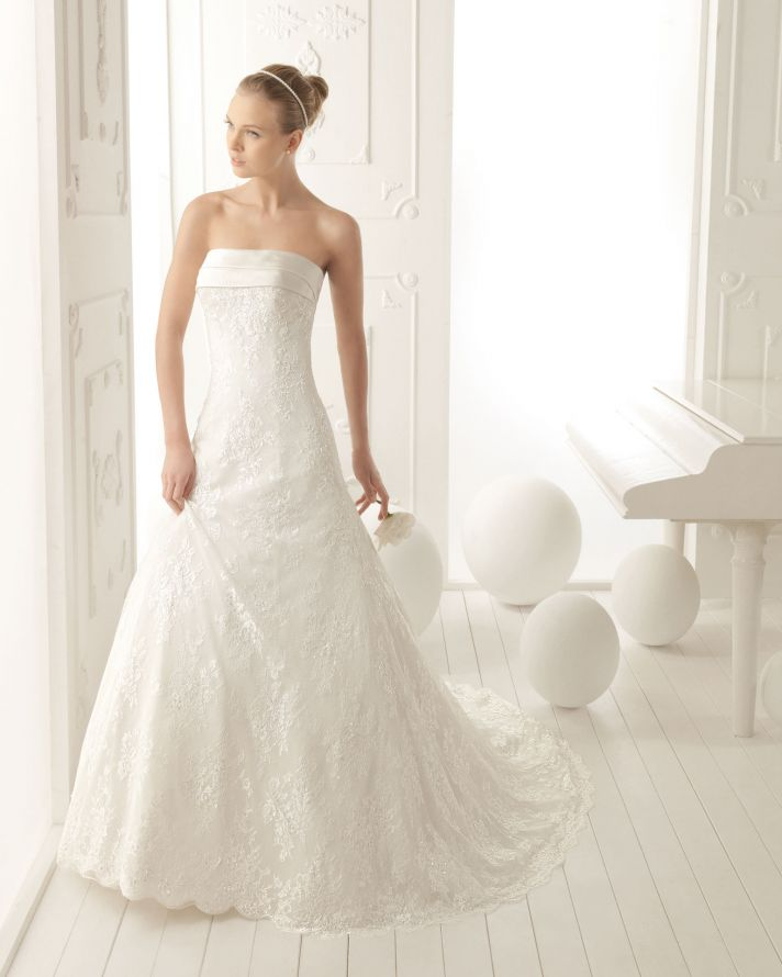 Aire Barcelona Wedding Dress 2013 Vintage Bridal Collection Venus