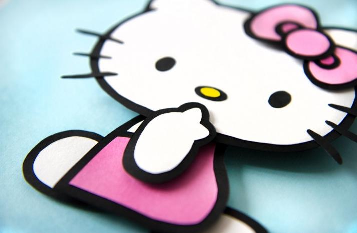 Hello Kitty Wedding Table Decor