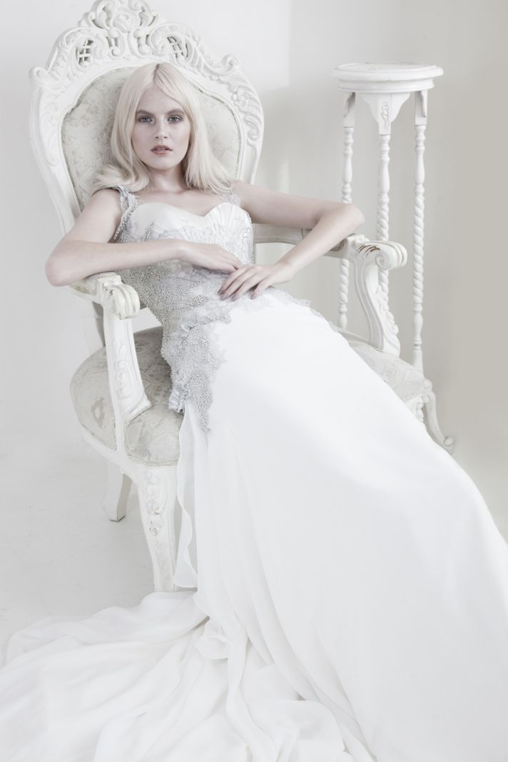 Mariana Hardwick Wedding Dress 2013 Bridal Ames