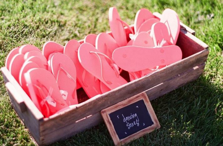 Flip Flops for Wedding Guests