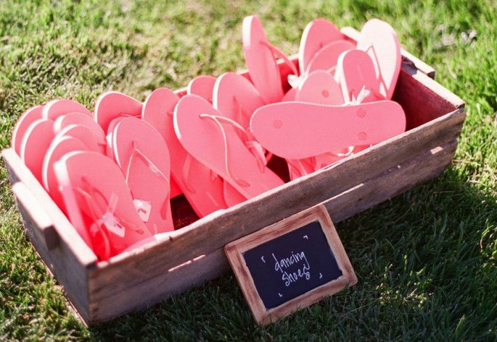 Flip Flops for Wedding Guests