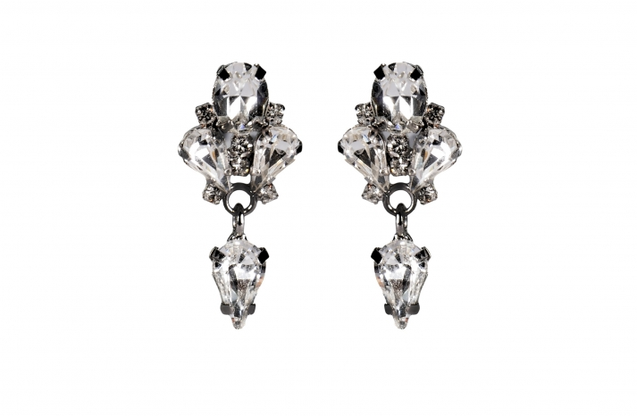Jenny Packham Wedding Accessories Spring 14 Bridal Tesoro earrings