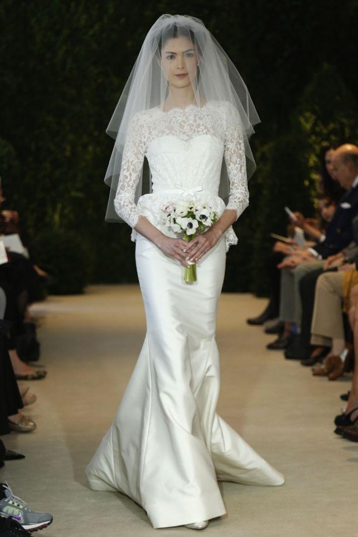 Carolina Herrera Wedding Dress Spring 2014 Bridal 16