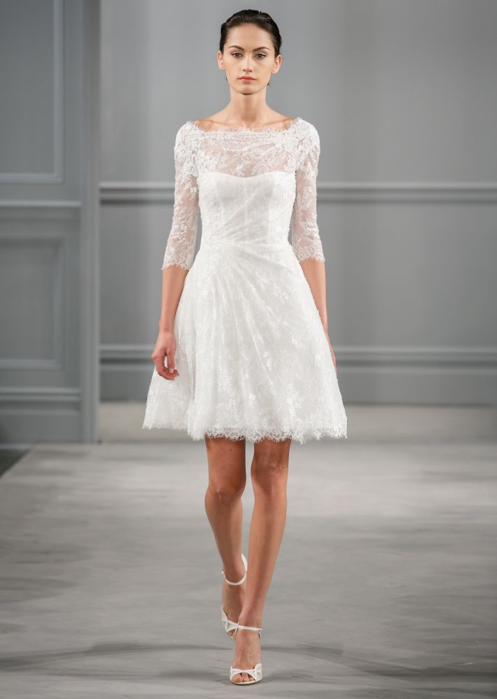 From City Hall to the Altar… Monique Lhuillier Spring 2014