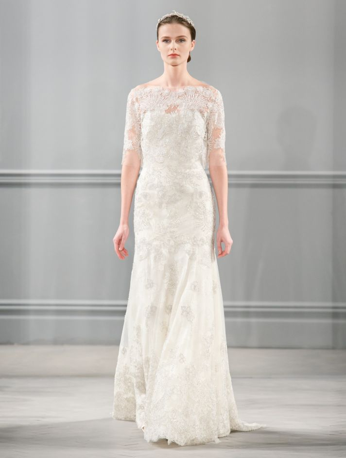 Spring 2014 Wedding Dress Monique Lhuillier Bridal Darcelle