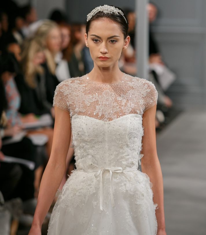 Spring 2014 Wedding Dress Monique Lhuillier Bridal Illusion 3
