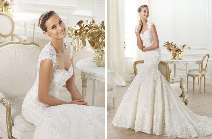 Pronovias wedding dress pre 2014 bridal costura Letha
