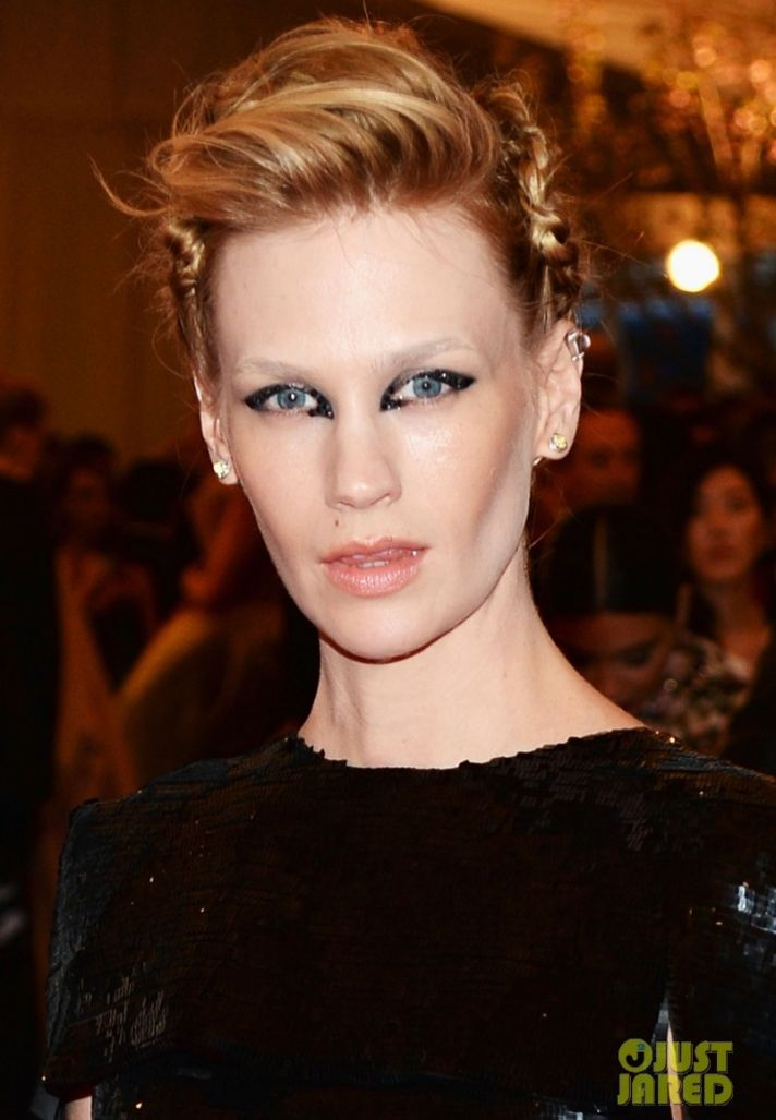 Wedding Hair Makeup Dos and Donts Met Ball 2013 January Jones