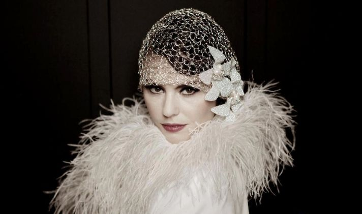 Great Gatsby wedding style for premier day