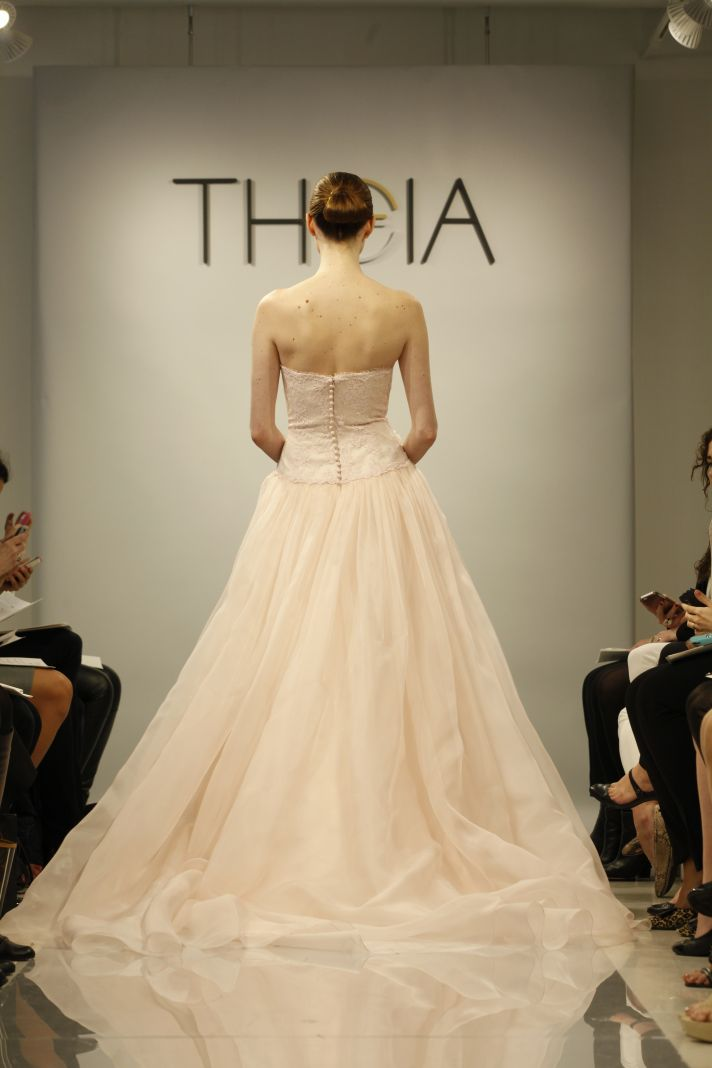 Theia Spring2014 wedding dress bridal gown Rose