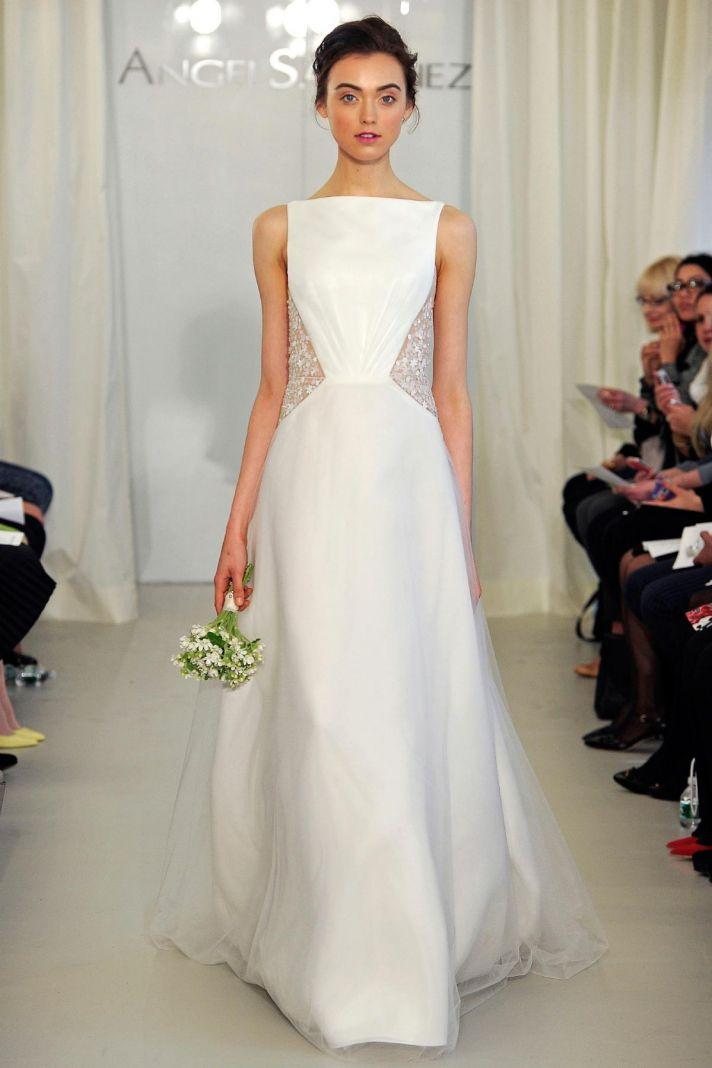 Angel Sanchez wedding dress Spring 2014 Bridal 3