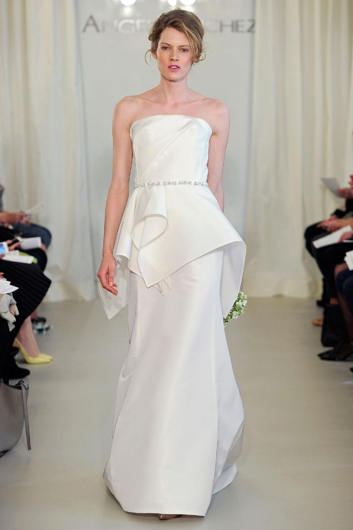 Angel Sanchez wedding dress Spring 2014 Bridal 8