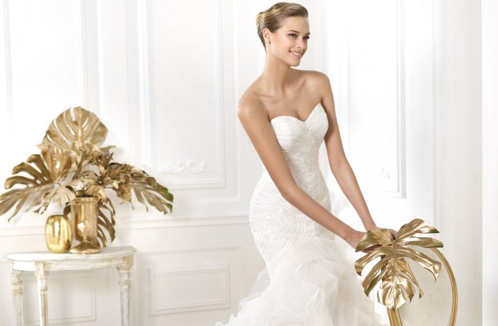 Pronovias Dreams wedding dress pre 2014 bridal