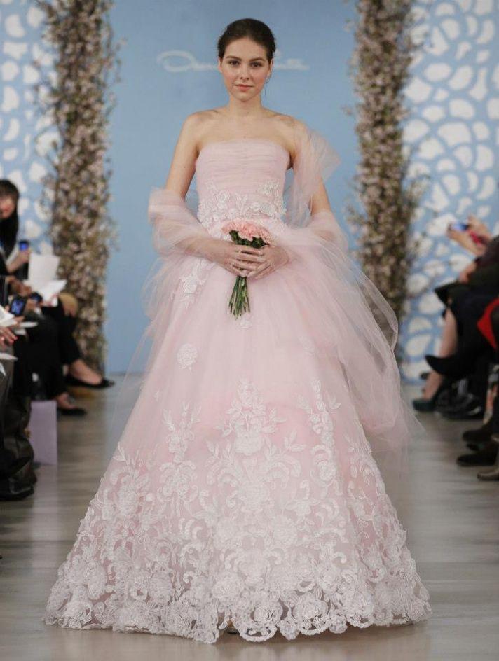 Wedding Dress by Oscar de la Renta Spring 2014 Bridal 24