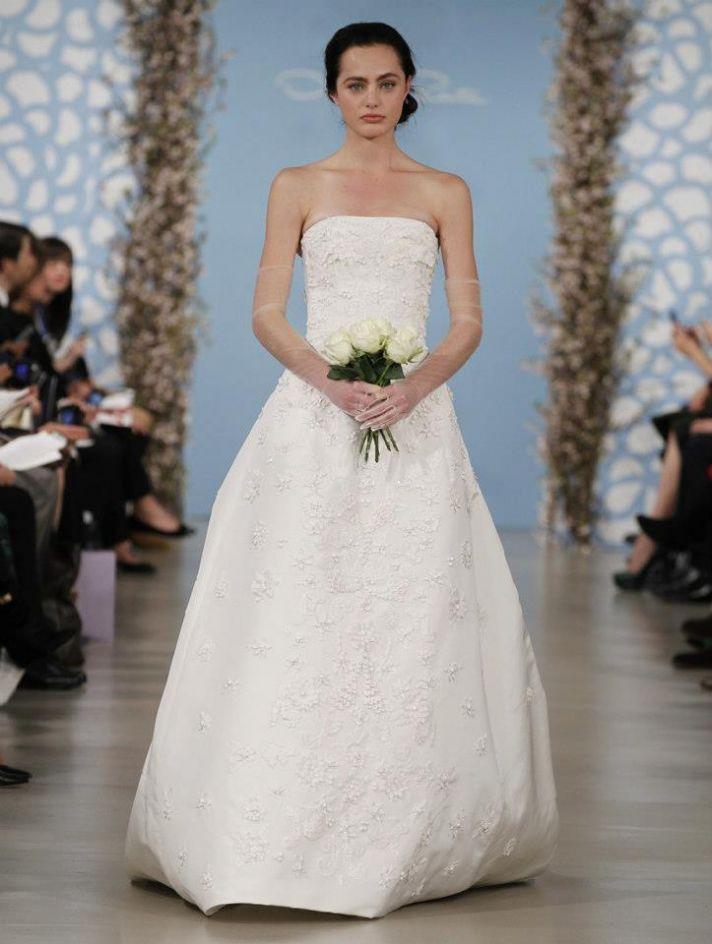 Wedding Dress by Oscar de la Renta Spring 2014 Bridal 22
