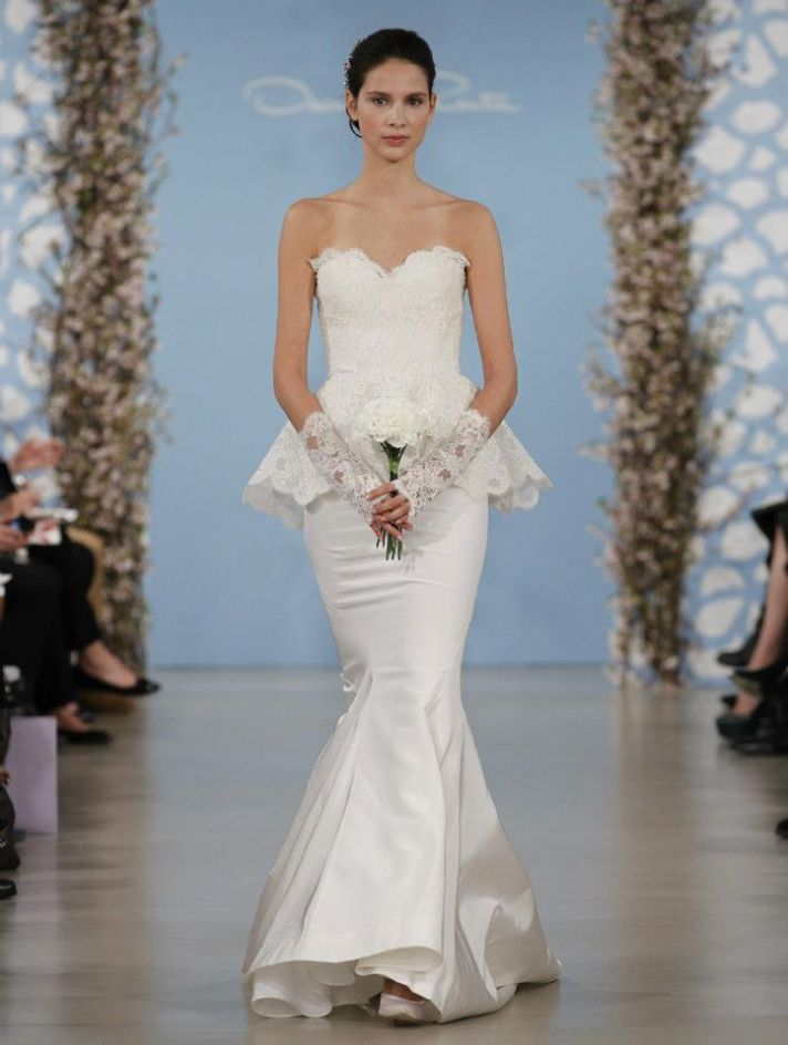 Fairy tale wedding gowns by oscar de la renta spring 2014 for Oscar dela renta wedding dress
