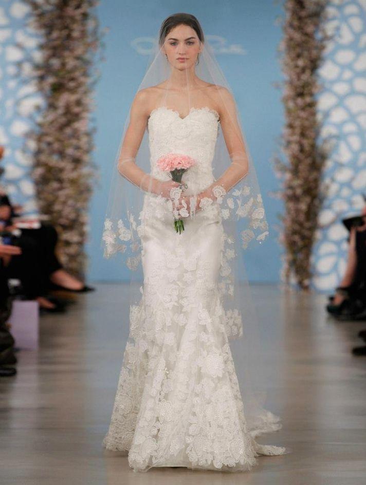 Wedding Dress by Oscar de la Renta Spring 2014 Bridal 5